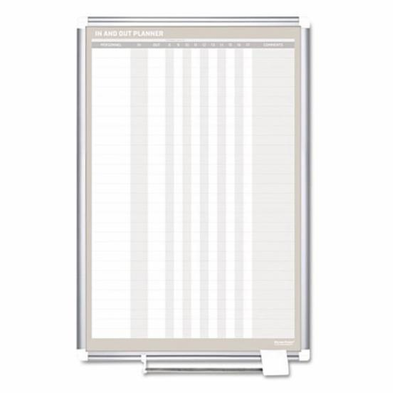 MasterVision 24 x 36 in. In-Out Dry Erase Board