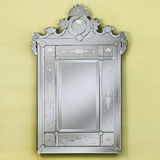 Victoria Arched Venetian Wall Mirror - 33W x 52H in.