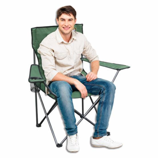 Quick Chair Folding Quad Camp Chair - Do not use