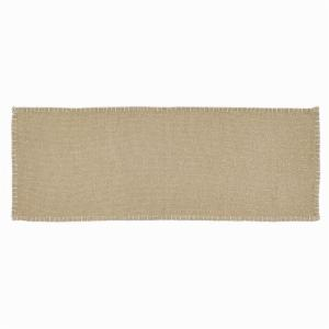 VHC Brands Nowell Natural Table Runner