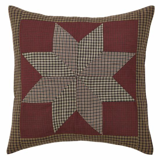 Carson Star Patchwork Euro Sham by VHC Brands