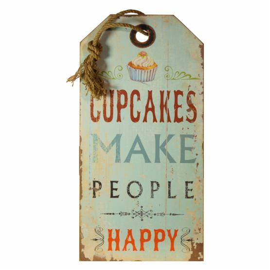 VIP International Cupcake Hanging Sign