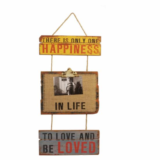 VIP International Happiness Hanging Sign