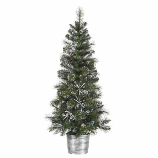 Vickerman 5 ft. Frost White Mix Tip Pre-Lit Christmas Tree