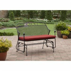 Better Homes and Gardens Clayton Court Outdoor Glider with Cushion