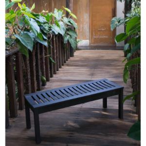 Better Homes and Gardens Delahey 47 in. Backless Outdoor Garden Bench