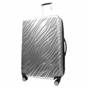 IFLY 28 in. Silver Flame Hardside Luggage