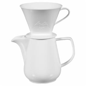 Melitta 6 Cup Porcelain Pour-Over Coffee Maker