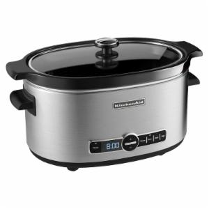 KitchenAid 6-qt. Slow Cooker with Solid Glass Lid