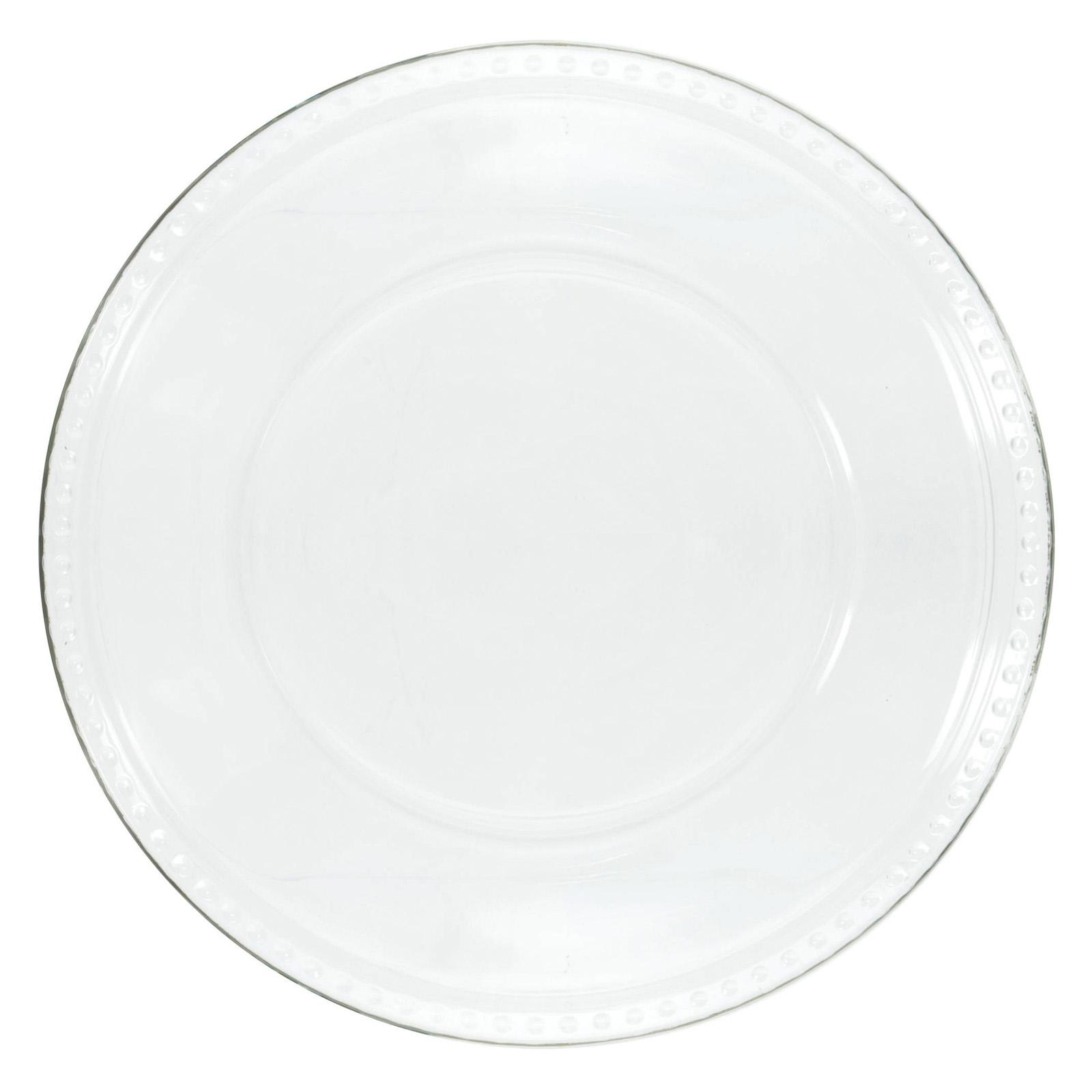 Anchor Hocking Isabella 10 in. Dinner Plate - Set of 12 -...