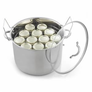 McSunley 21.5-Quart Stainless Steel Canner