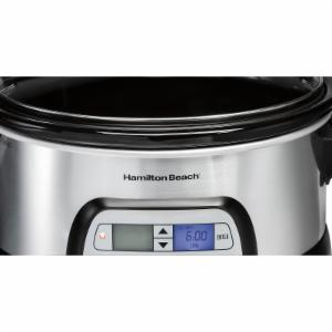 Hamilton Beach Programmable FlexCook 6 Quart Slow Cooker