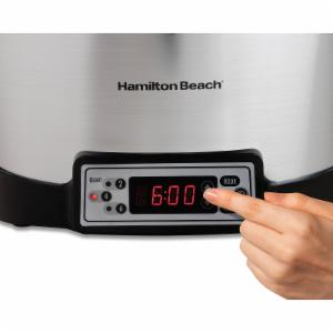 Hamilton Beach 6 Quart Programmable Right Size Slow Cooker