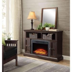 Whalen Media Fireplace Console