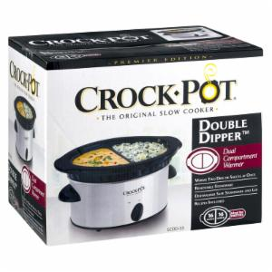 Crock-Pot Crock Pot Double Dipper Slow Cooker