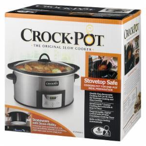 Crock-Pot Crock Pot 6-Quart Programmable Slow Cooker