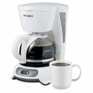 Mr. Coffee TF4 Simple Brew 4-Cup Switch Coffee Maker