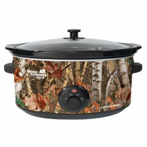 Nesco 8-Quart Woodland Birch Slow Cooker