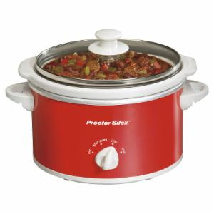 Proctor Silex 33111Y 1.5 qt. Portable Oval Slow Cooker