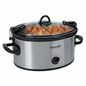 Crock-Pot Crock Pot 6-Quart Cook and Carry Manual Slow Cooker