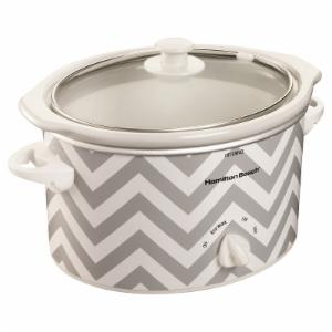 Hamilton Beach 3-Quart Oval Countertop Slow Cooker and Dipper