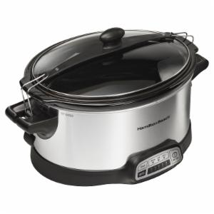 Hamilton Beach Programmable Stay or Go 6-Quart Slow Cooker
