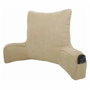 Elements Suede Oversized Bedrest Lounger