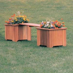 Wood Country 3-ft. Cedar Backless Planter Bench
