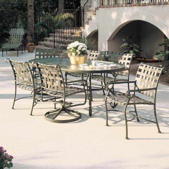 Woodard Ramsgate Strap Patio Dining Collection