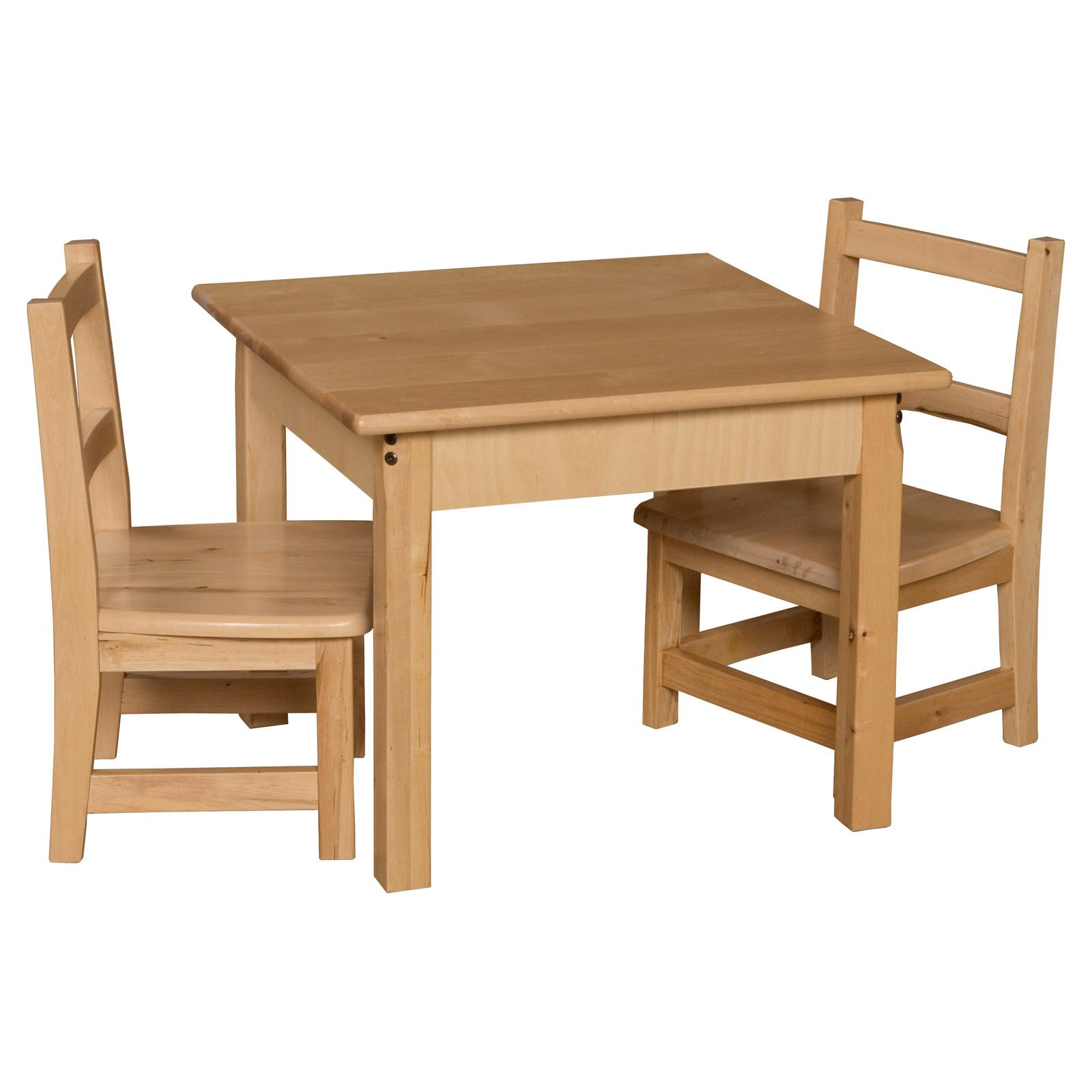 Wood Designs Square Table and Chair Set - WDM255-3