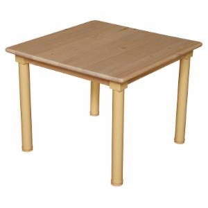 Wood Designs Childrens Square Table and Chair Set with 12 in. Chairs