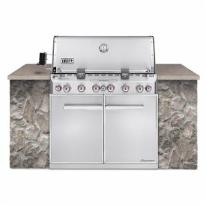 Weber Summit S-660 Built In Gas Grill - Natural Gas