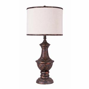 A Homestead Shoppe Corsica L2572BC-UP1 Table Lamp