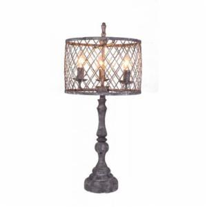 A Homestead Shoppe Nyack L2391GY-UP1 Table Lamp