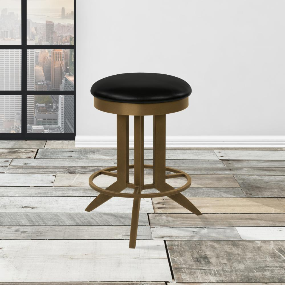 taylor gray home cambridge 26 in backless swivel counter stool ebay. Black Bedroom Furniture Sets. Home Design Ideas