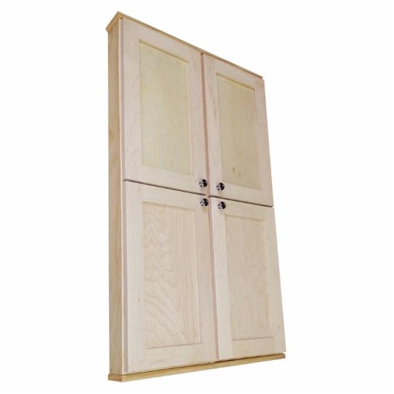 WG Wood Providence 19W x 49.5H in. 2-Door Surface Mount Medicine Cabinet