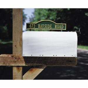 Whitehall Double Sided 1-line Arch Marker Mailbox Mount