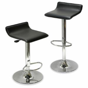 Winsome 25.2-Inch Adjustable Air Lift Counter Stool - Set of 2