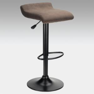 Winsome Adjustable Marni Air Lift Swivel Counter Stool in Charcoal Brown