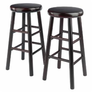 Winsome 24 in. Swivel Counter Stool - Set of 2