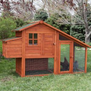 Boomer & George Deluxe 4 Chicken Coop With Run