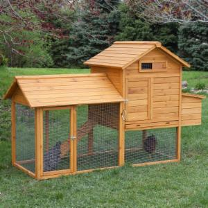 Boomer & George Tree-Tops 4 Chicken Coop With Run