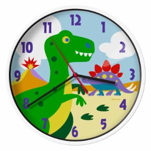 Olive Kids Dinosaur Land Wall Clock