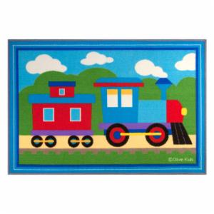 Olive Kids Trains, Planes, Trucks Kids Rug - 2.63L x 3.75W ft.