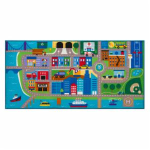 Olive Kids Cityscape Play Kids Rug - 3.25L x 6.68W ft.