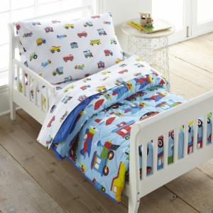 Trains, Planes, Trucks Toddler Comforter by Olive Kids