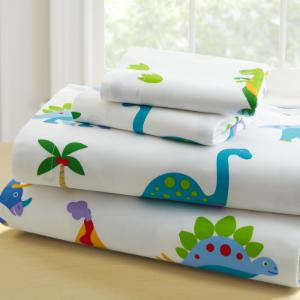 Dinosaur Land 3 Piece Toddler Sheet Set by Olive Kids