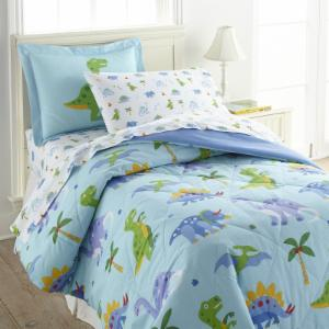 Dinosaur Land Comforter Set by Olive Kids