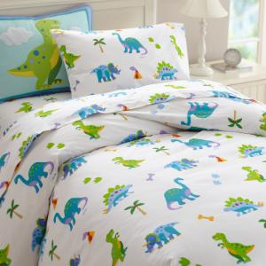 Dinosaur Land Duvet Cover by Olive Kids