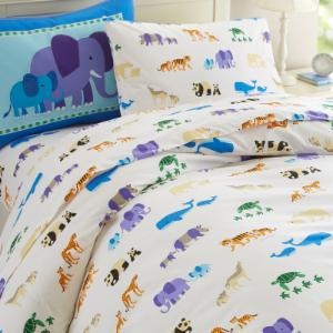 Endangered Animals Duvet Cover by Olive Kids